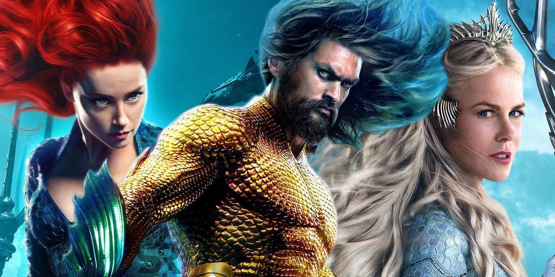 [CINEMA] Aquaman: Onde estão as mulheres da Atlântida?