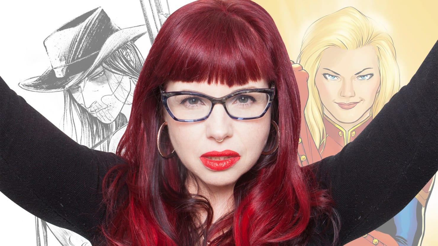 Mulheres nos Quadrinhos: Kelly Sue DeConnick
