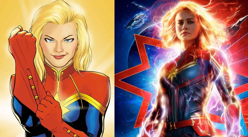 [DELIRIUM NEWS] Capitã Marvel também chega aos quadrinhos com lançamento da Panini!