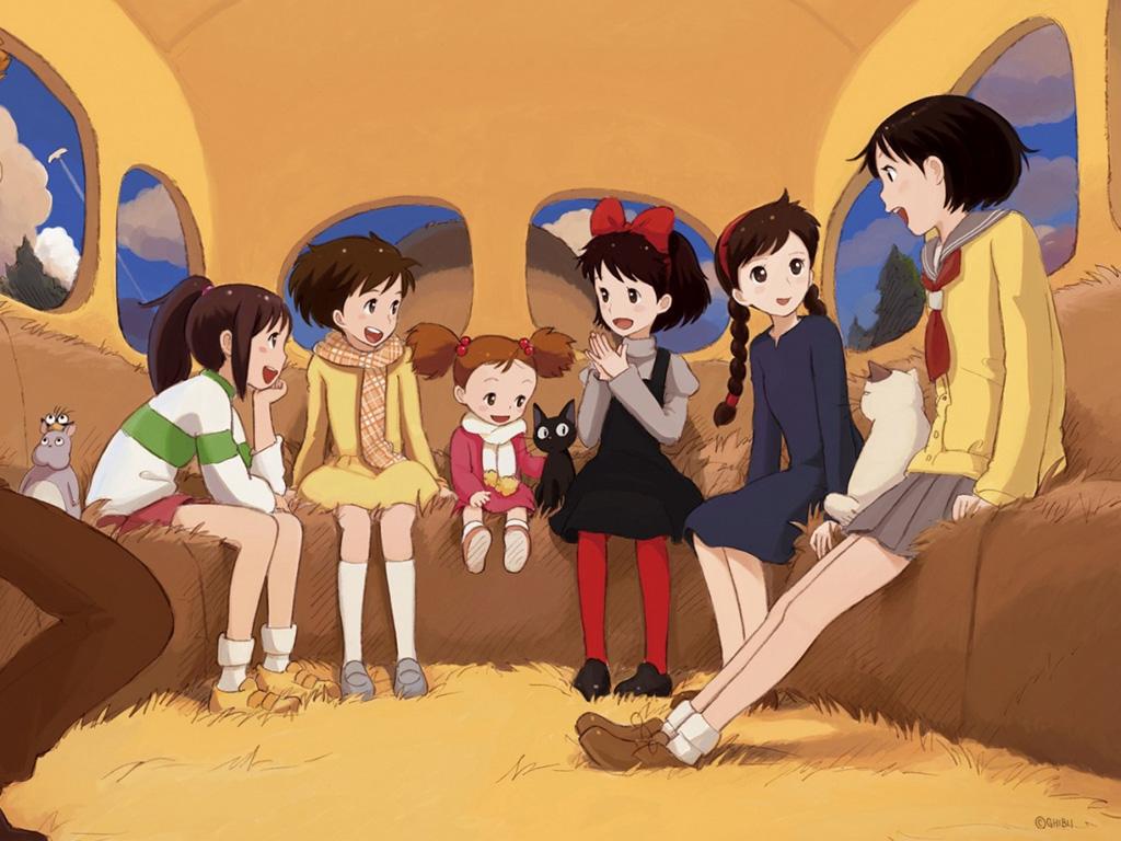 As personagens femininas de Hayao Miyazaki nas animações da Ghibli