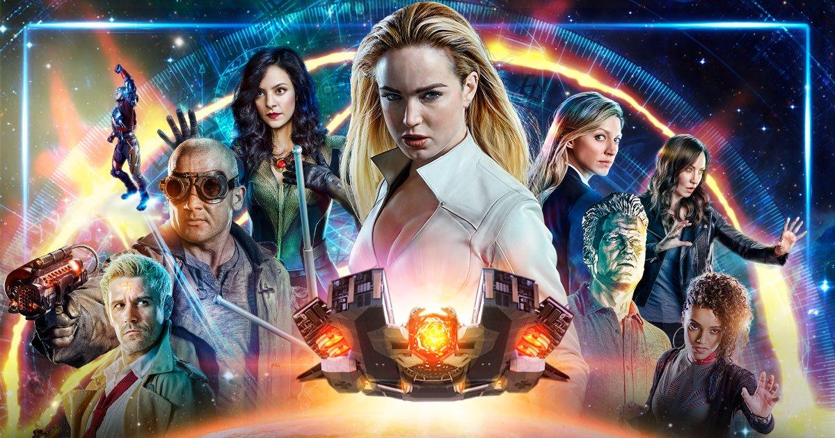 DC's Legends of Tomorrow: representatividade, humor e viagem no tempo!