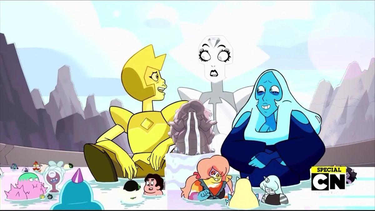 [DESENHOS] Steven Universe – 05×28: Change Your Mind (season finale)