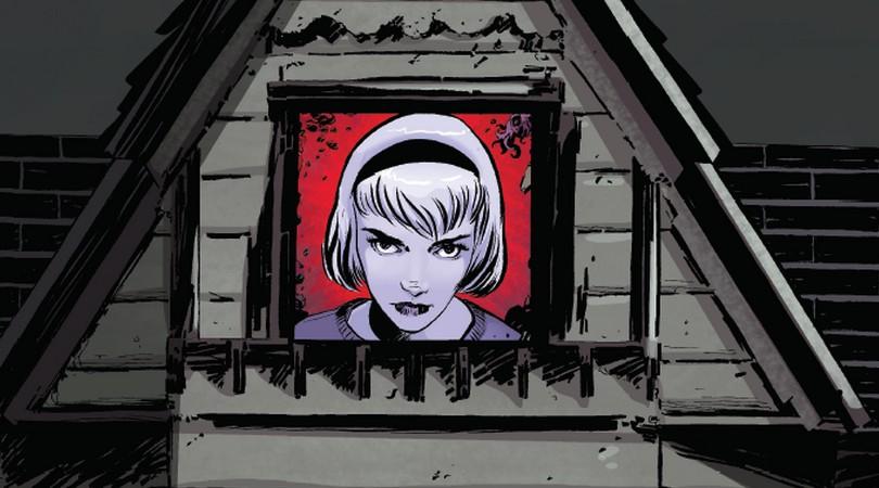 """Geektopia divulga pré-venda da HQ que inspirou a série """"O Mundo Sombrio de Sabrina""""!"""