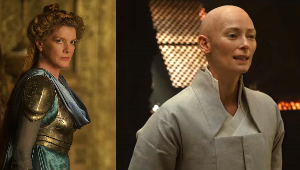 Frigga (Rene Russo) e Anciã (Tilda Swinton)