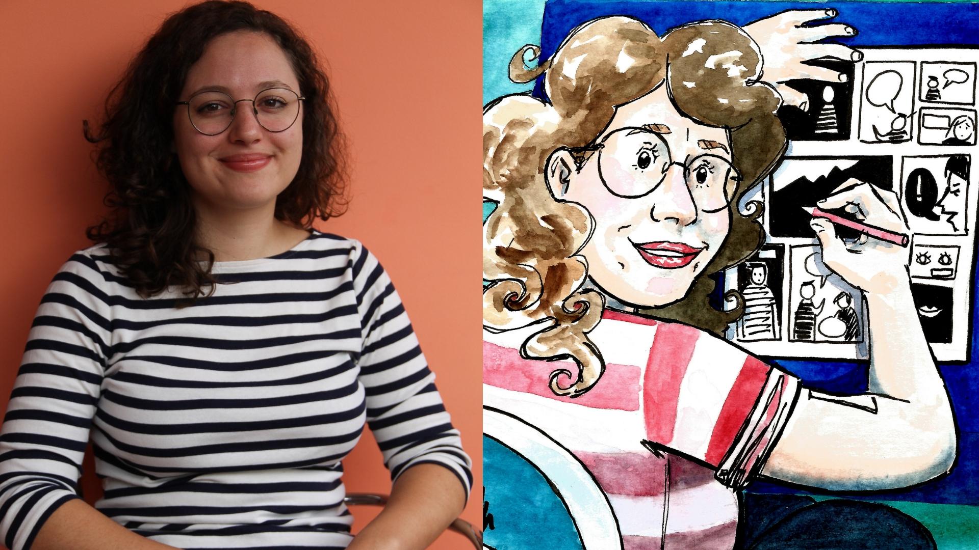 Mulheres nos Quadrinhos: Helô D'Angelo