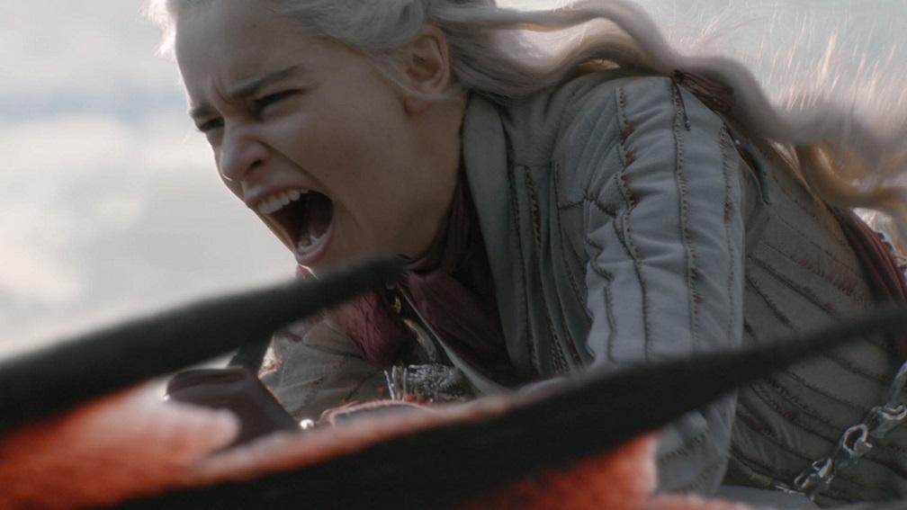 Daenerys Targaryen (Emilia Clarke) em Game of Thrones