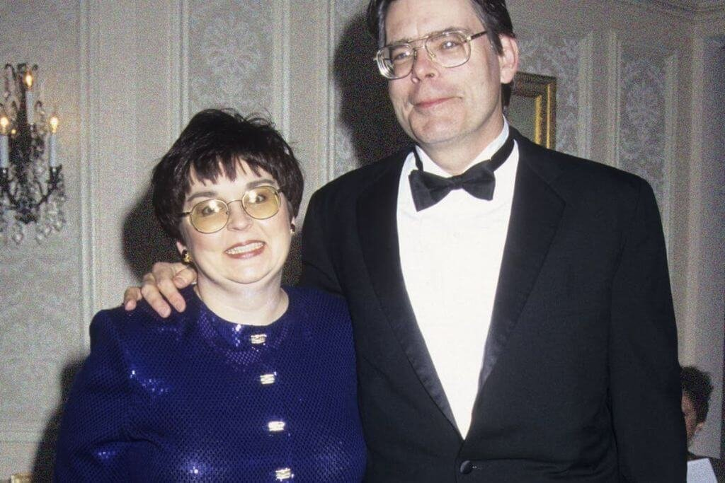 Tabitha King e Stephen King, autores publicados no Brasil pela DarkSide Books