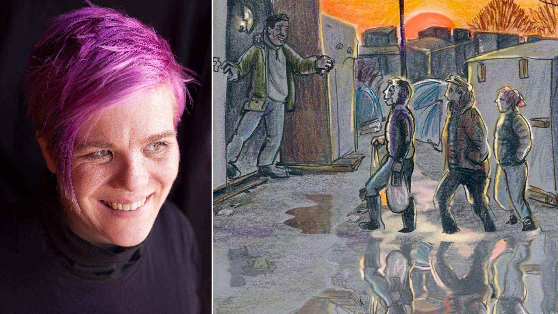 Mulheres nos Quadrinhos: Kate Evans