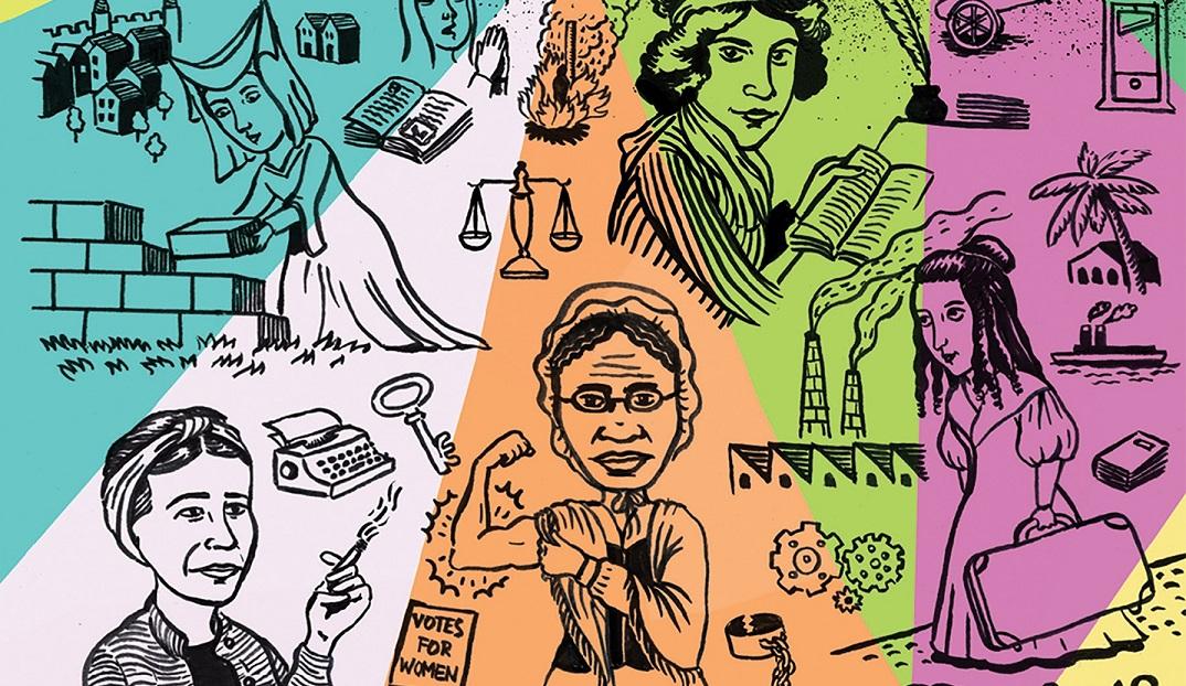 Uma breve história em quadrinhos do feminismo no contexto euro-americano