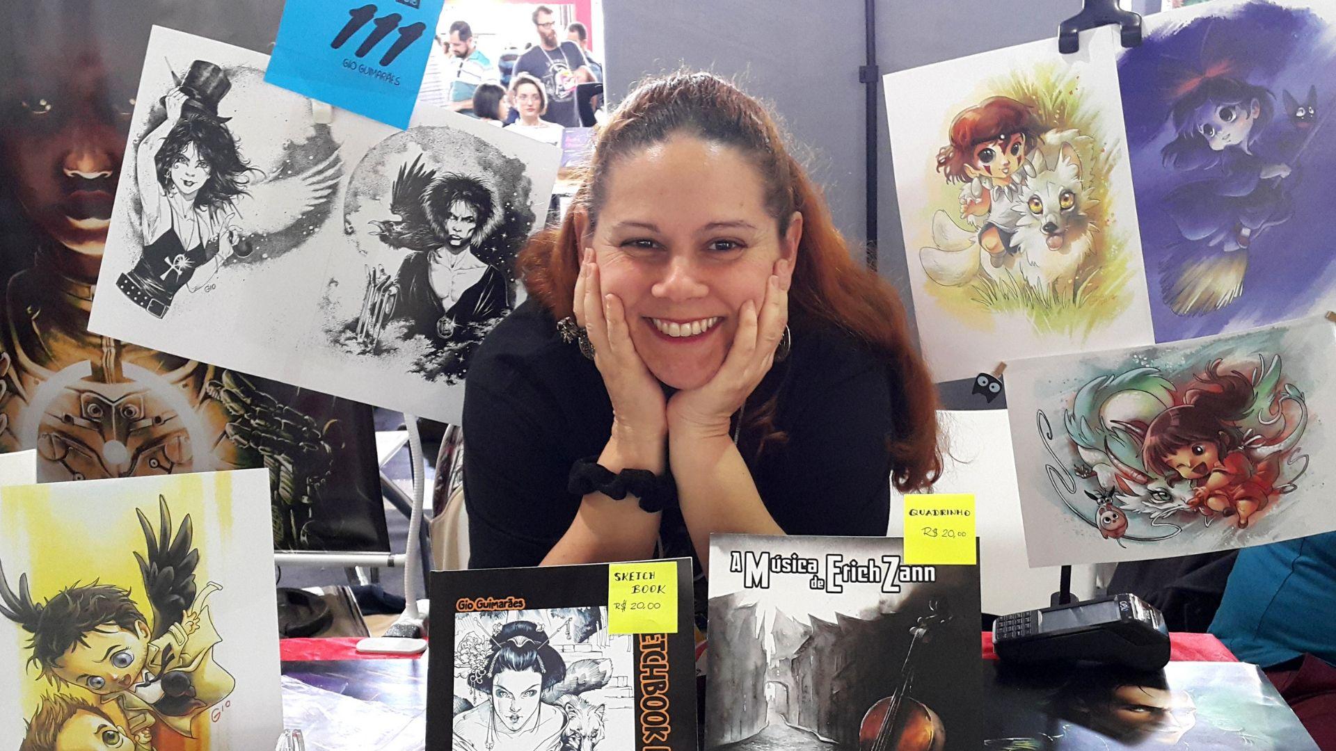 Mulheres nos Quadrinhos: Gio Guimarães