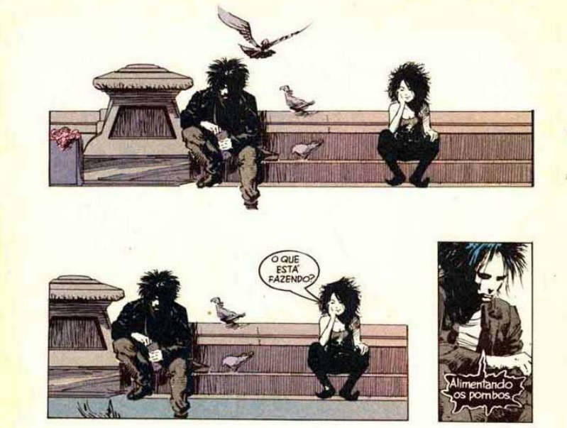 Morte em Sandman, Neil Gaiman