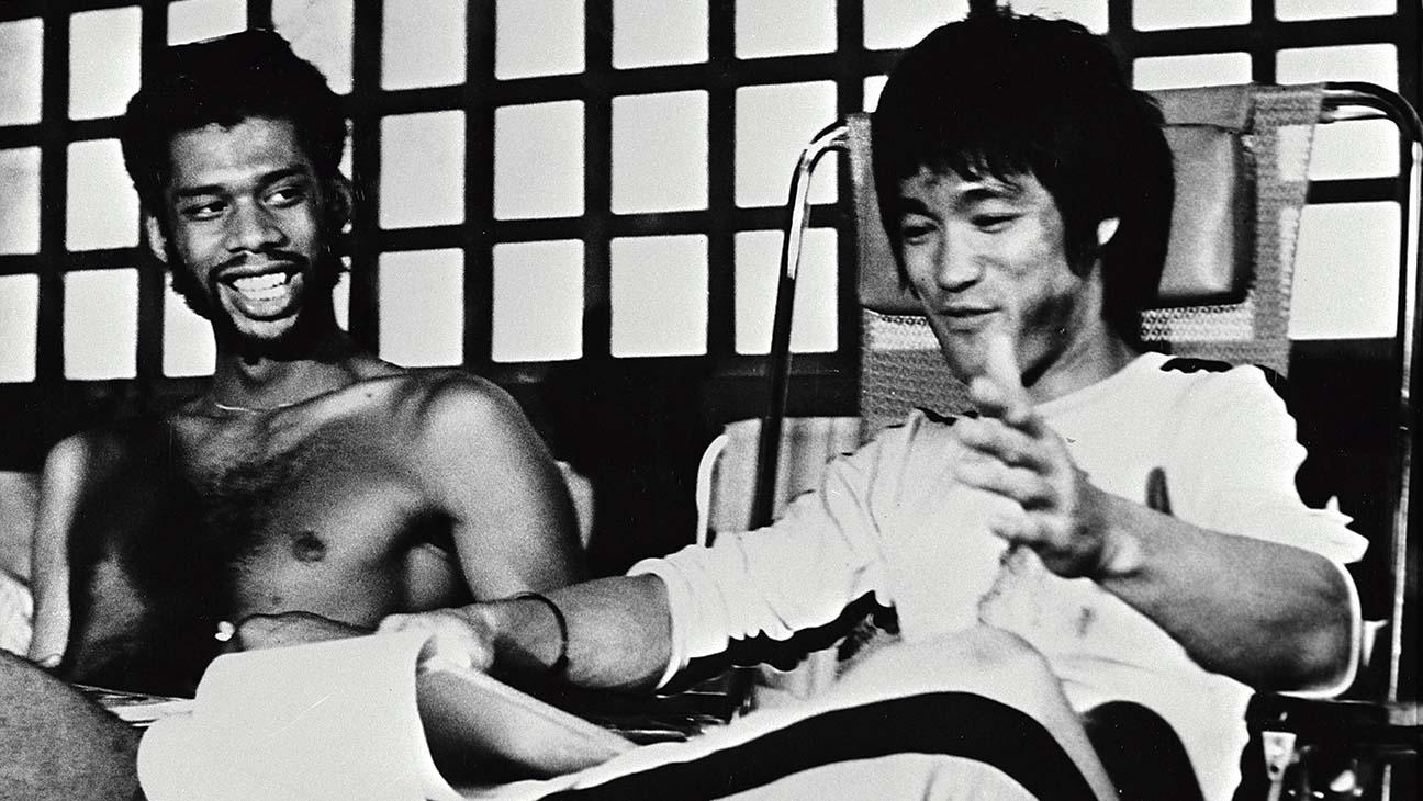 Bruce Lee e Kareem Abdul-Jabbar