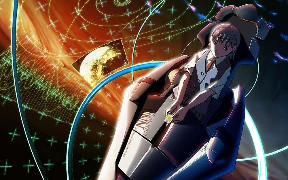 Mikako em Vozes de uma Estrela Distante