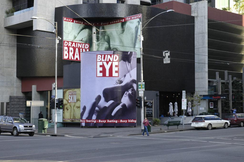 Blind Eye - Barbara Kruger