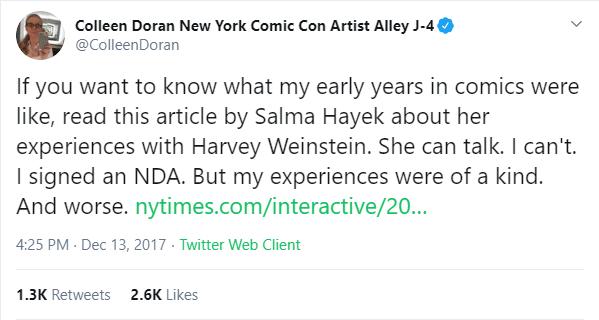 Colleen Doran no Twitter