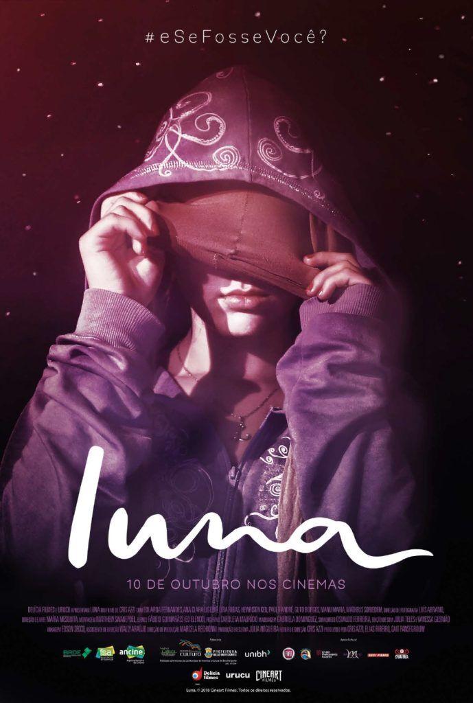 Luna - #eSeFosseVocê? - cartaz - filme brasileiro