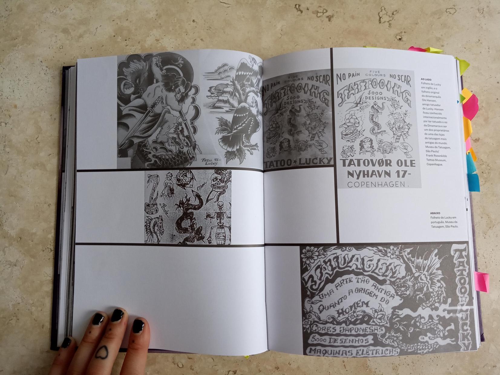 Folhetos de Lucky - Uma História da Tatuagem no Brasil - Silvana Jeha
