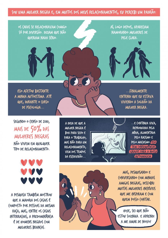 Laura Athayde - Aconteceu Comigo - A solidão da mulher negra
