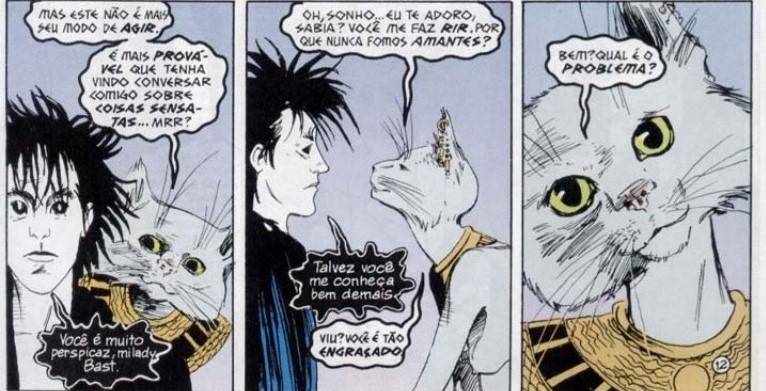 """Bast e Sonho em """"Sandman"""""""