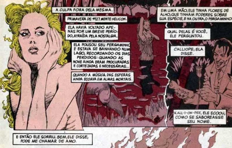 "Callíope em ""Sandman"", de Neil Gaiman"
