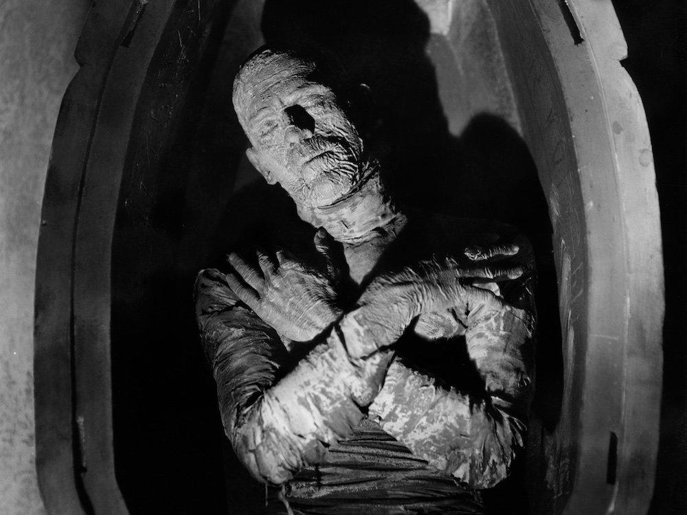 Monstros da Universal - A múmia (Boris Karloff)