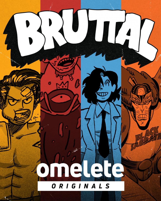 Bruttal - novo selo de quadrinhos do Omelete