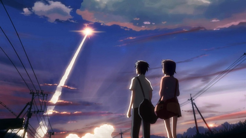 Cinco Centímetros por Segundo, Makoto Shinkai