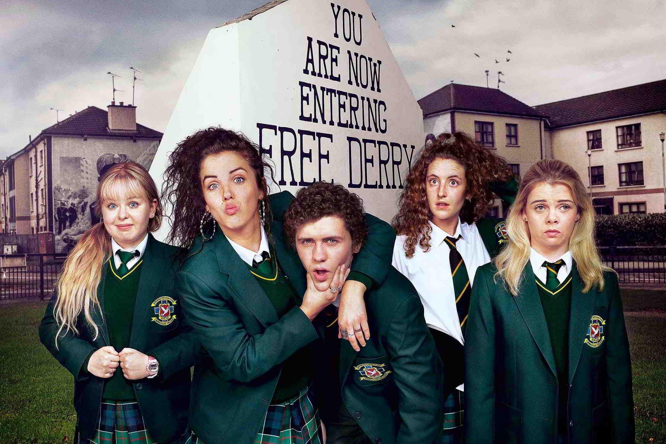 Derry Girls: adolescentes sendo adolescentes e diversão em tempos de cólera