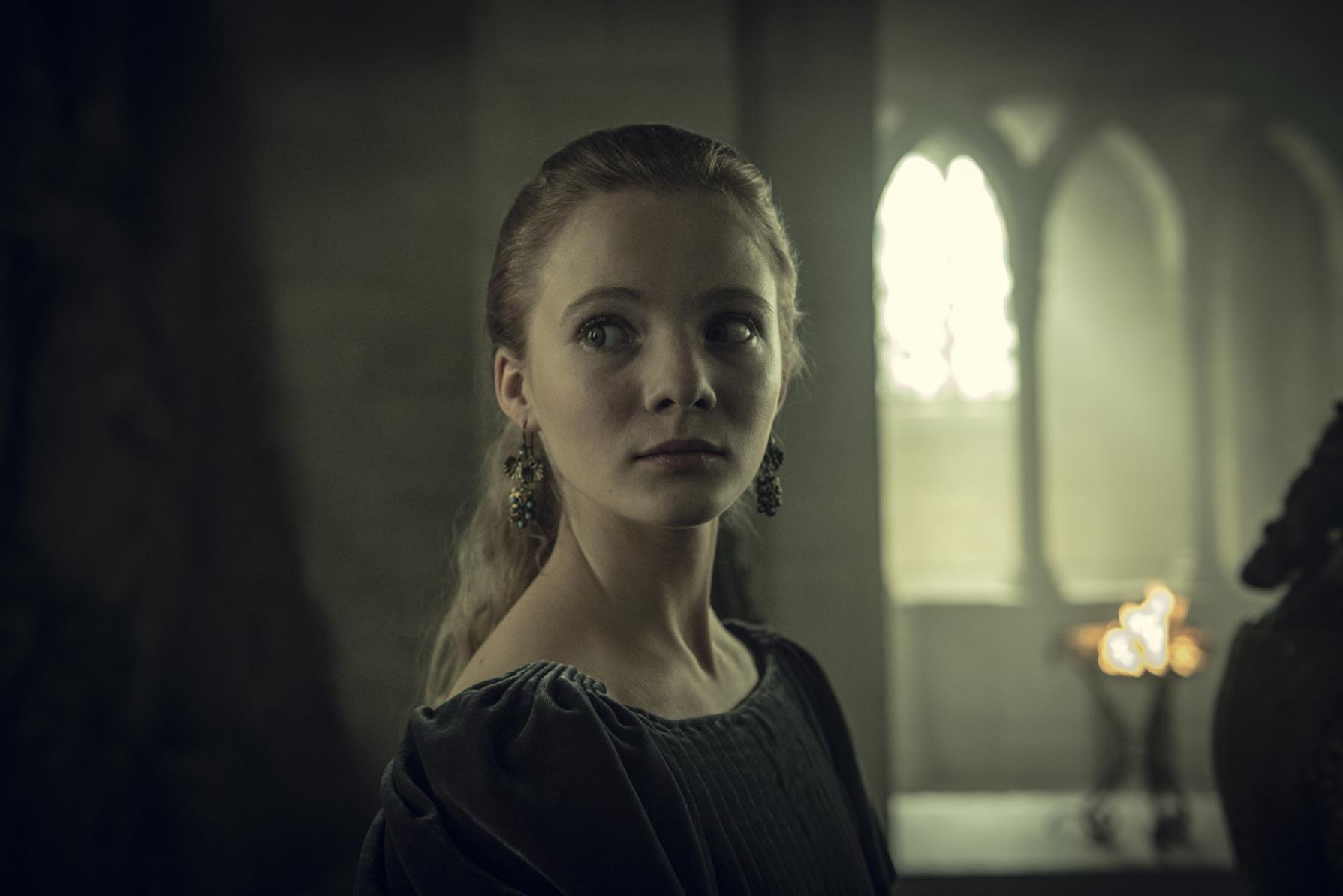 """Freya Allan (Cirilla de Cintra) em """"The Witcher"""""""
