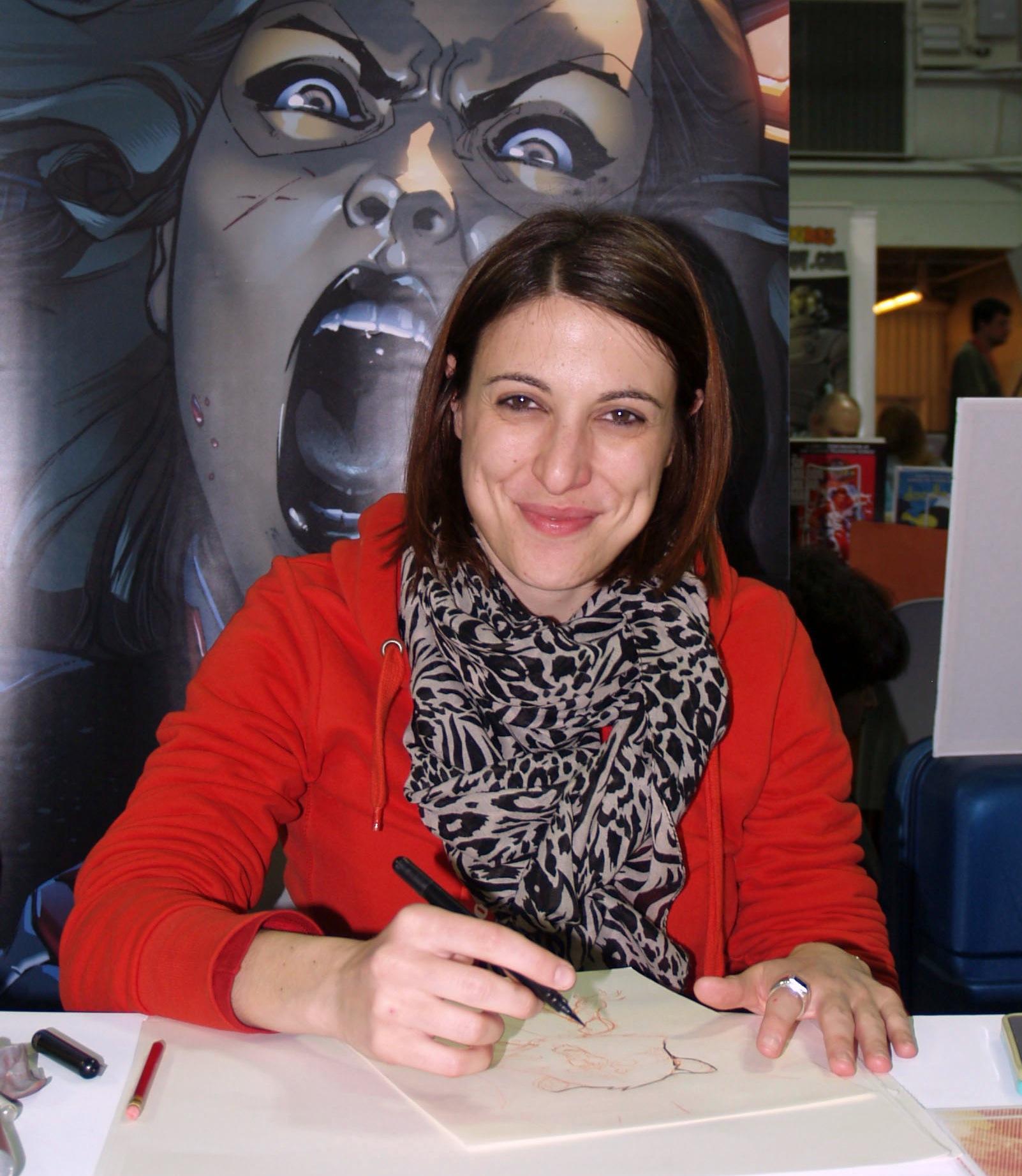Sarah Pichelli - mulheres nos quadrinhos