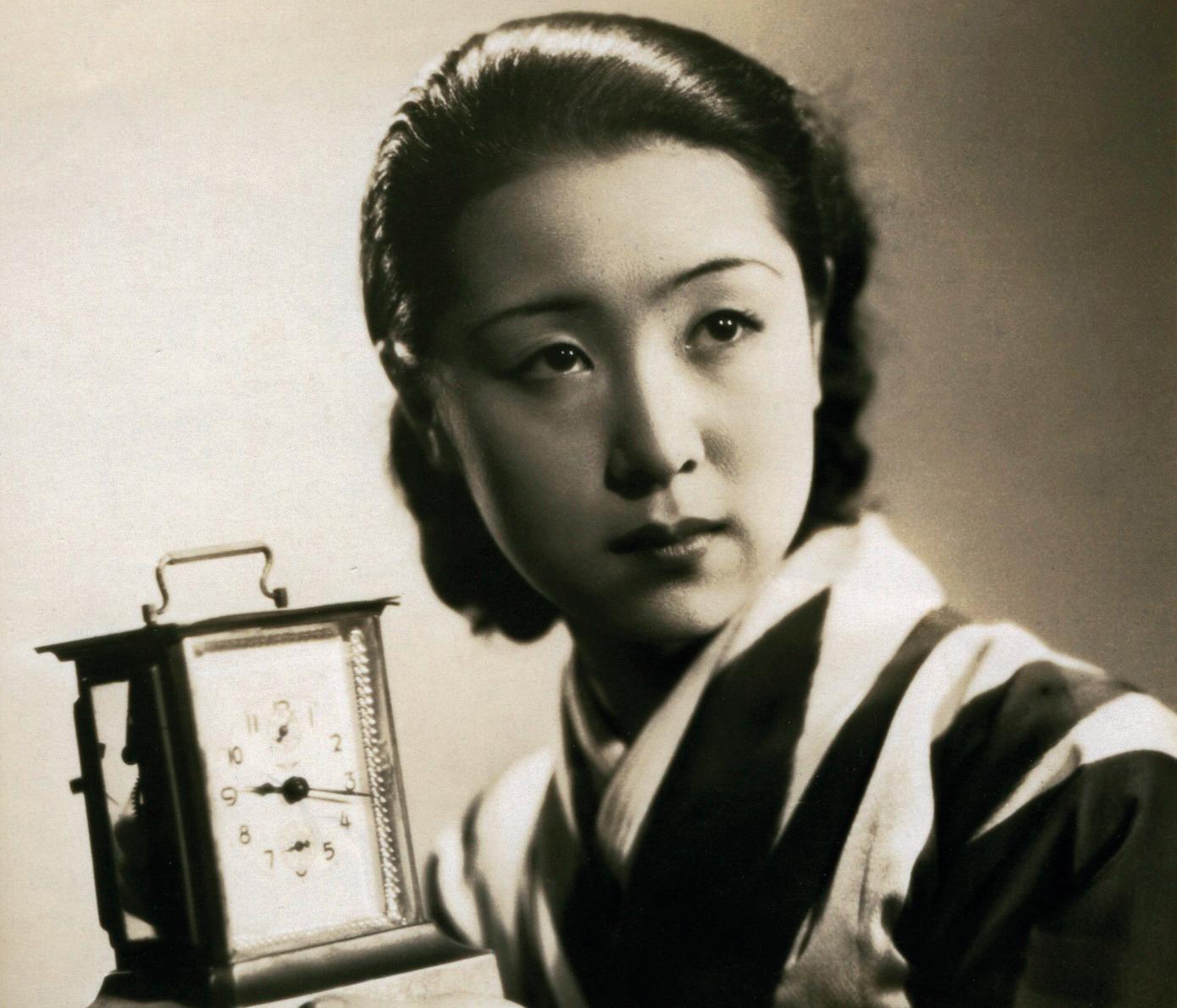 A atriz e diretora Kinuyo Tanaka.