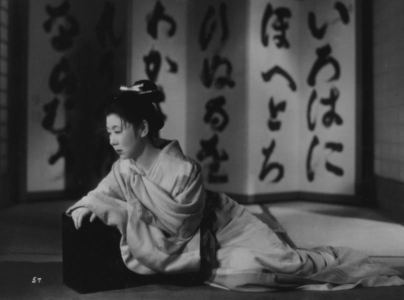 """Kinuyo Tanaka em """"Oharu - A Vida de Uma Cortesã"""" (1952)"""