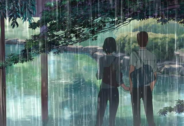 Jardim das Palavras, Makoto Shinkai