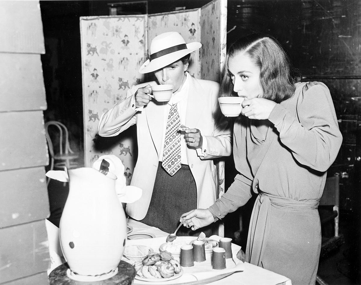 Joan Crawford e Dorothy Arzner