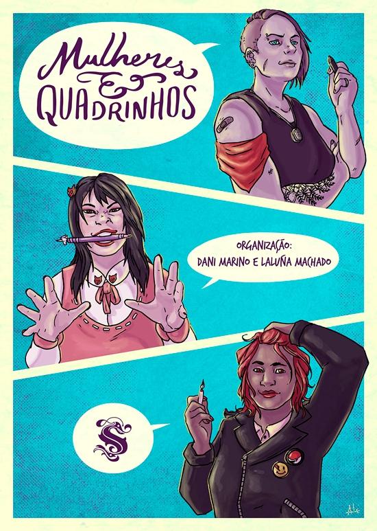 Mulheres e Quadrinhos - lançamentos - CCXP 2019