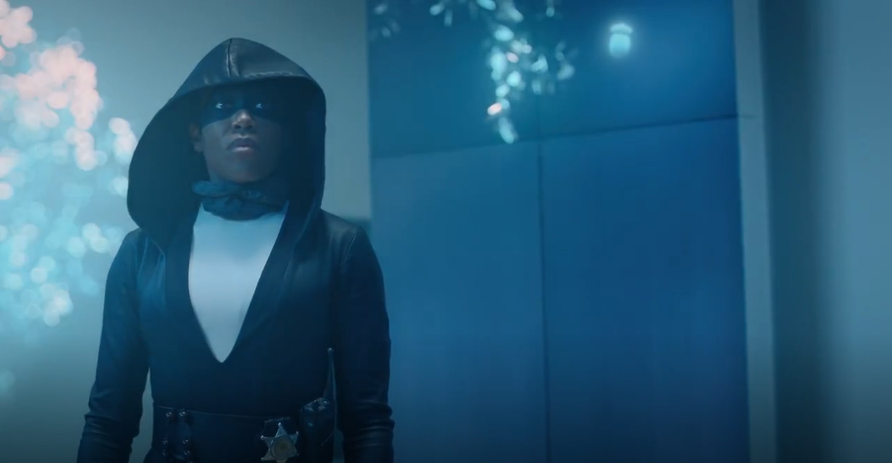 Angela Abar (Regina King) em Watchmen