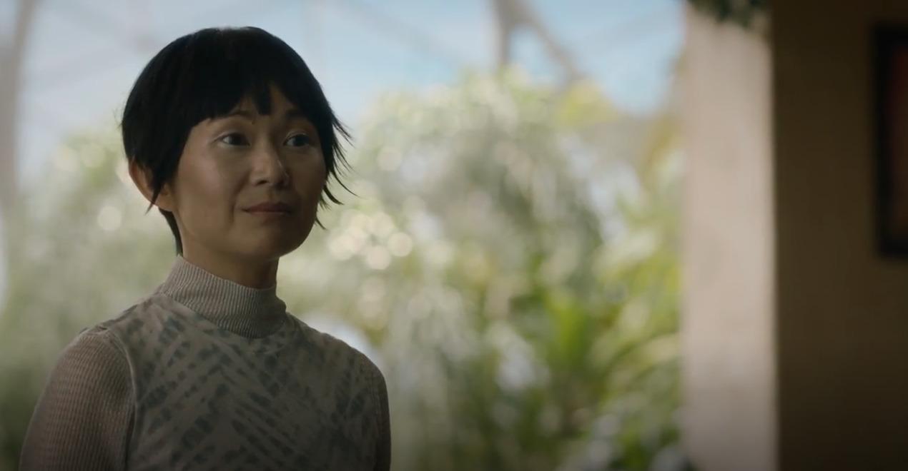 Lady Trieu (Hong Chau) em Watchmen