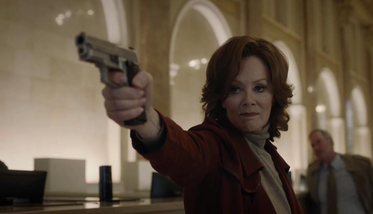 Laurie Blake no terceiro episódio da série da HBO