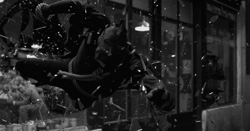 Angela Abar como Justiça Encapuzada em cena do sexto episódio de Watchmen
