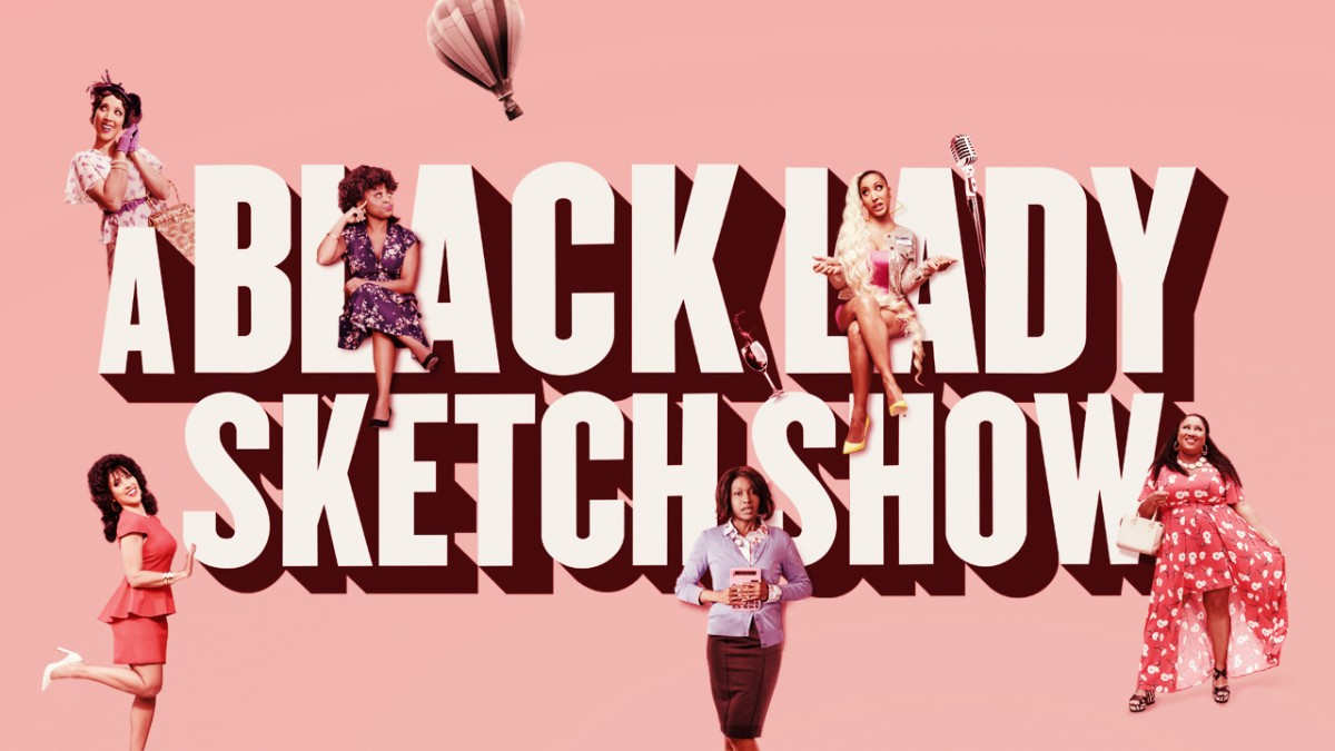 série hbo a black lady sketch show