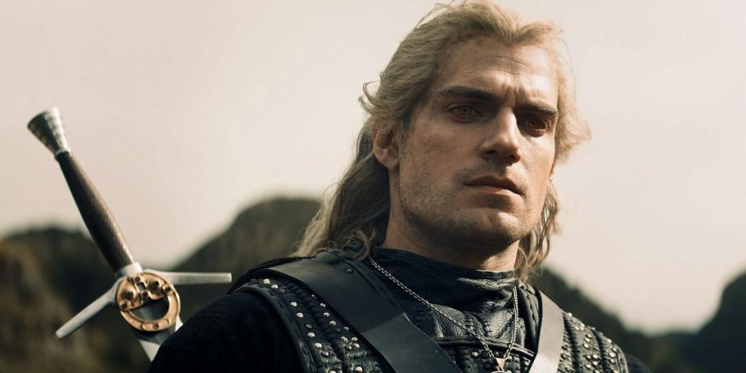 Geralt de Rívia (Henry Cavill) em The Witcher