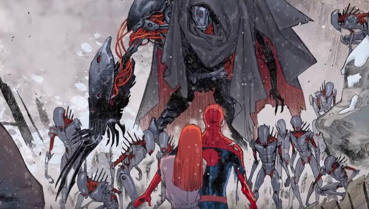Desenho: Cadaverous em Spider-Man