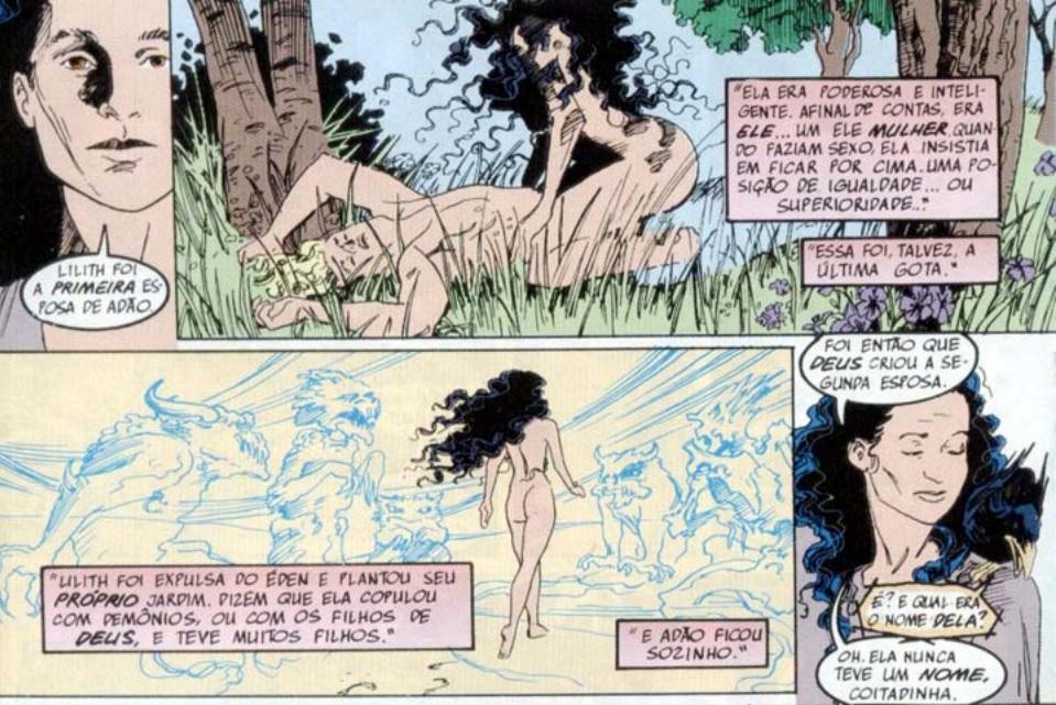 Eva e a mitologia presente em Sandman