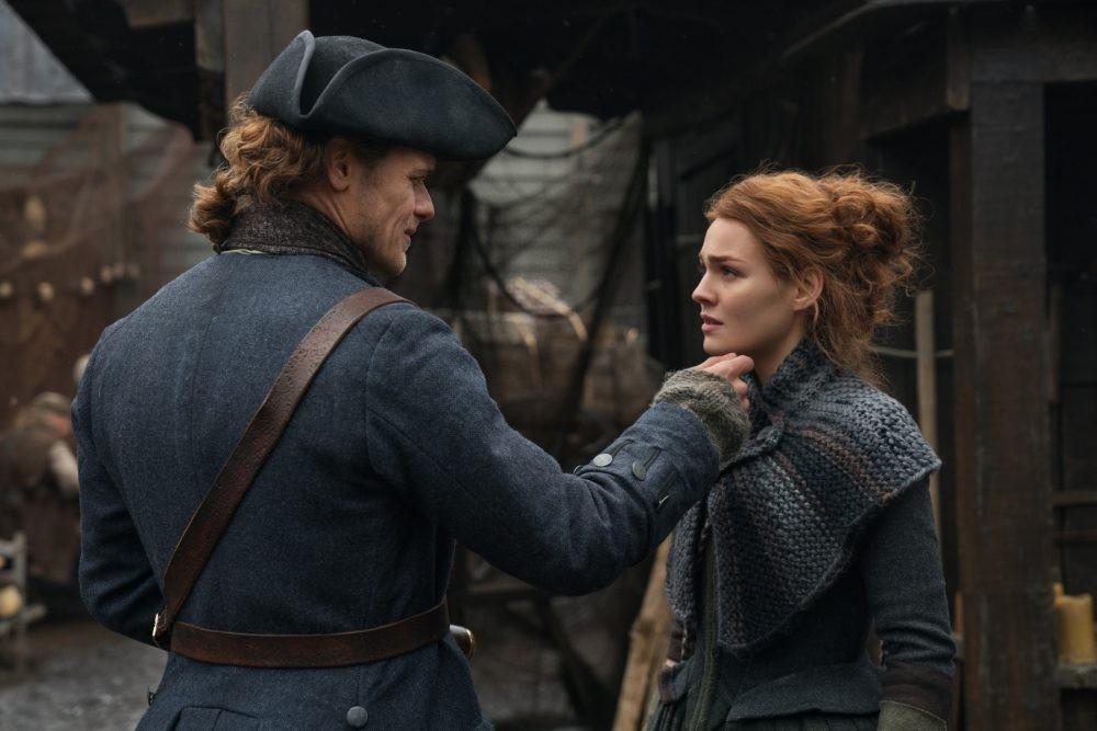 O primeiro encontro de Jamie e Brianna na 4ª temporada de Outlander