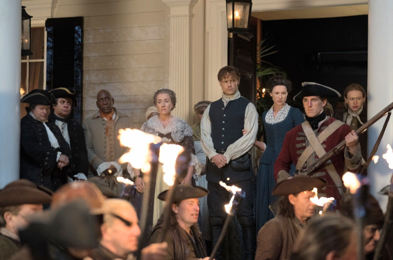 Cena do segundo episódio da 4ª temporada de Outlander