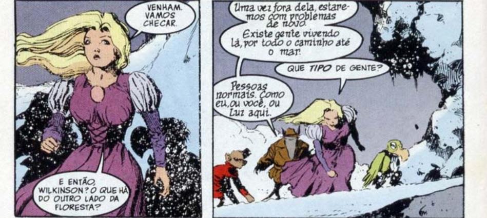 personagens femininas em Sandman