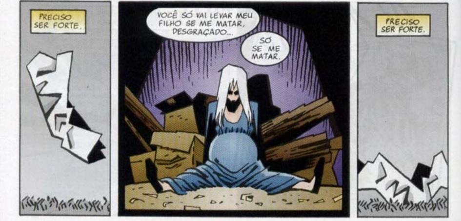 """Hippolyta Hall em """"Sandman"""""""