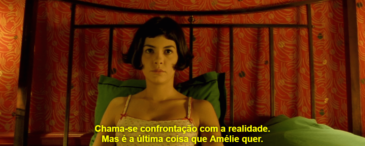 """Audrey Tautou no filme """"O Fabuloso Destino de Amélie Poulain"""""""