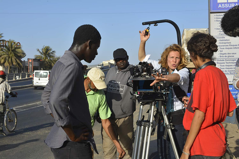 Claire Mathon e Amadou Mbow