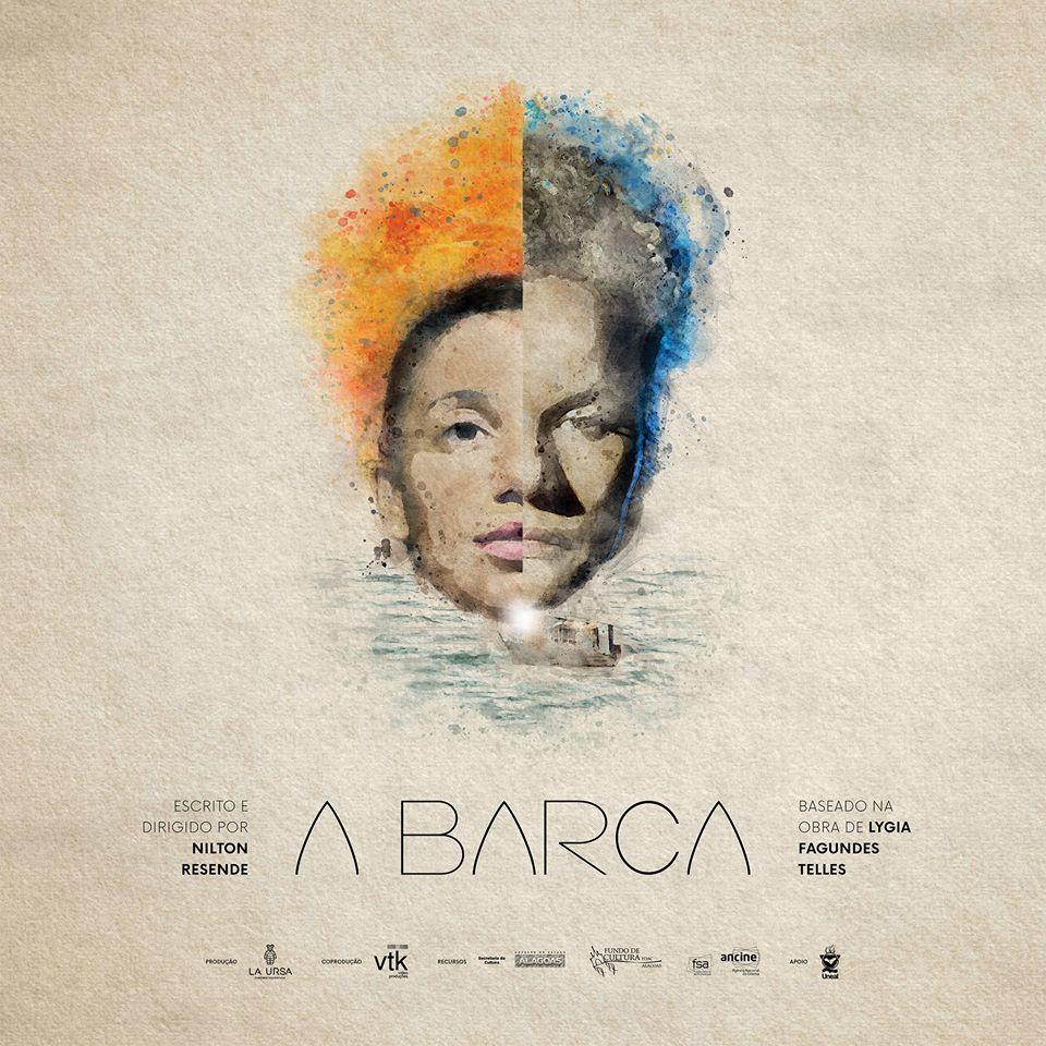 """Cartaz de """"A Barca"""", curta-metragem inspirado em conto de Lygia Fagundes Telles"""